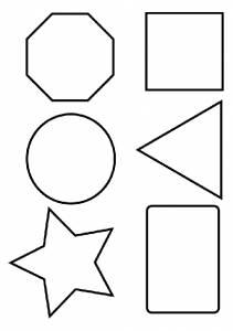Раскраска геометрические фигуры - 17 Сентября 2009 ...